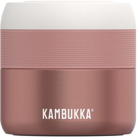 Kambukka Bora Barattolo per alimenti 400ml, rosa